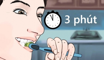 Việc chỉ nên làm trong 3 phút mỗi ngày để sống khỏe cả đời
