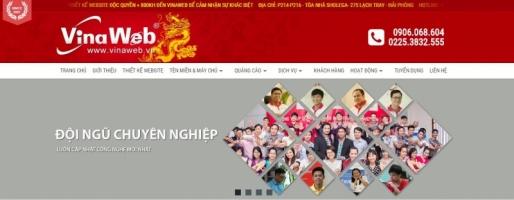 Dịch vụ thiết kế web giá rẻ tại Hải Phòng