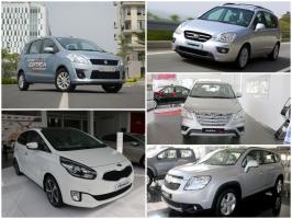 Xe ô tô 7 chỗ tiết kiệm nhiên liệu nhất hiện nay