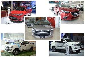 Xe ô tô bán chạy nhất tại Việt Nam năm 2016