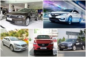 Xe sedan trên 1 tỷ đồng được yêu thích nhất