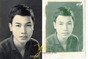 Dịch vụ phục chế ảnh cũ, mốc, hỏng ở Hà Nội