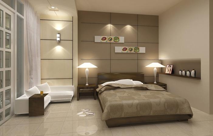 Một chiếc giường đôi ấm cúng như thế này sẽ vun đắp cho tình yêu thêm đẹp