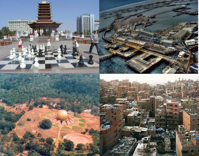 Top 10 Thành phố kì lạ nhất thế giới