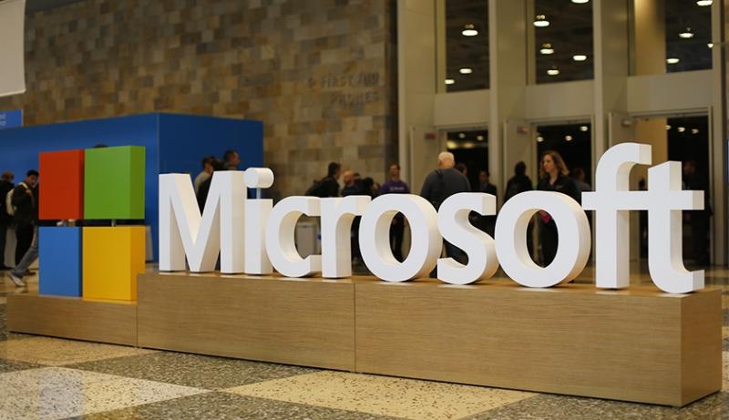Biểu tượng và tên Microsoft