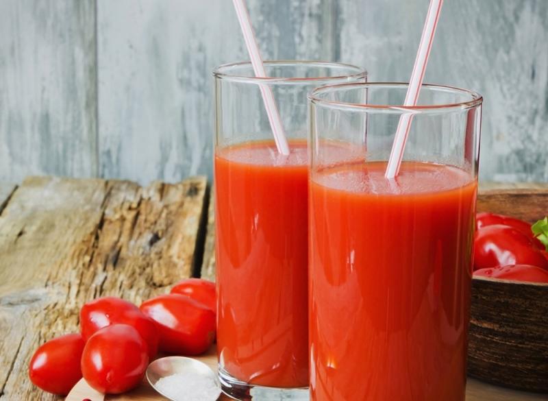Nước cà chua giúp giải say bia rượu