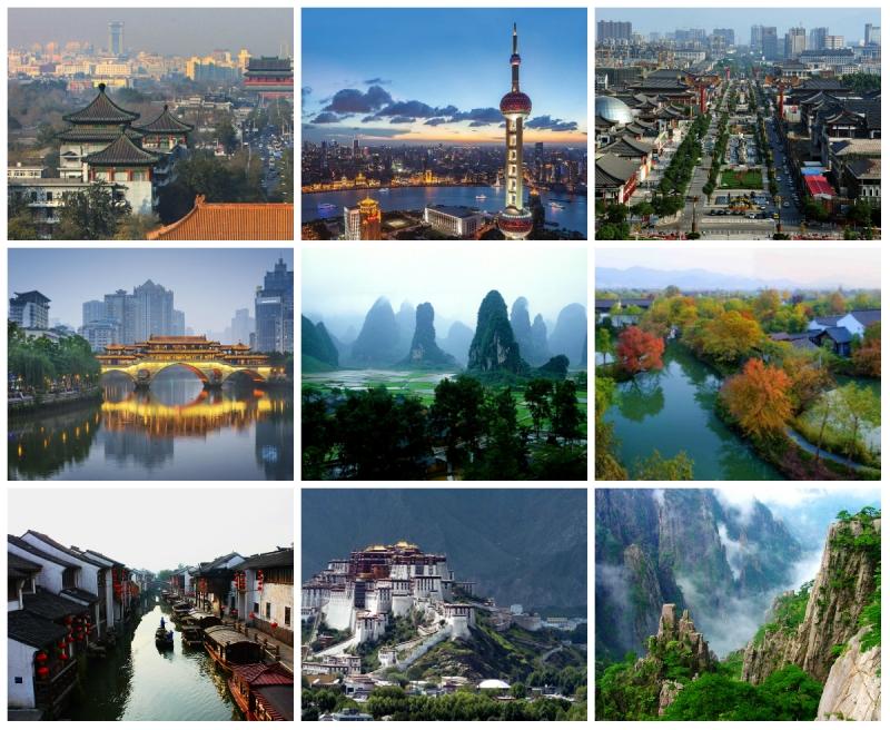 Top 10 Thành phố nên đến nhất ở Trung Quốc