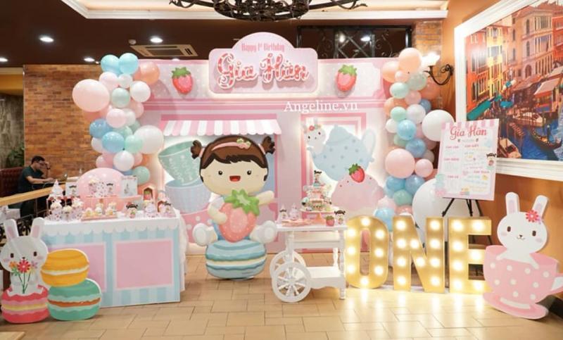 Mẫu trang trí sinh nhật đẹp mắt của cửa hàng