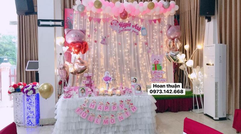 Trang trí sinh nhật Hoan Thuận