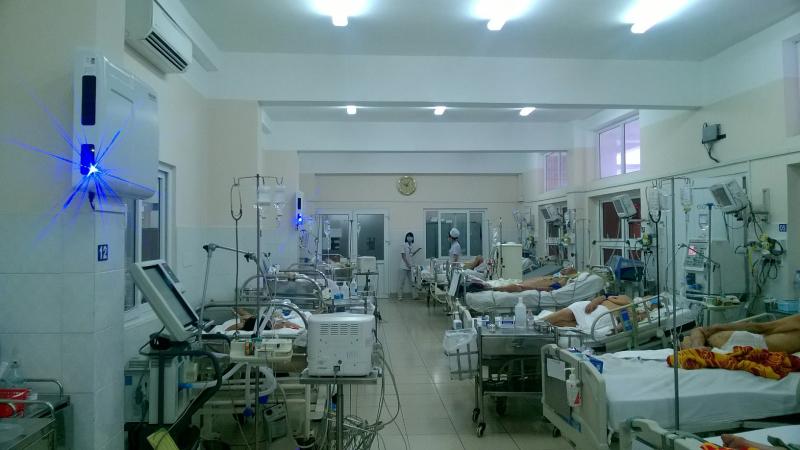 Máy làm sạch không khí Airocide được lắp đặt tại bệnh viện Thống Nhất - HCM