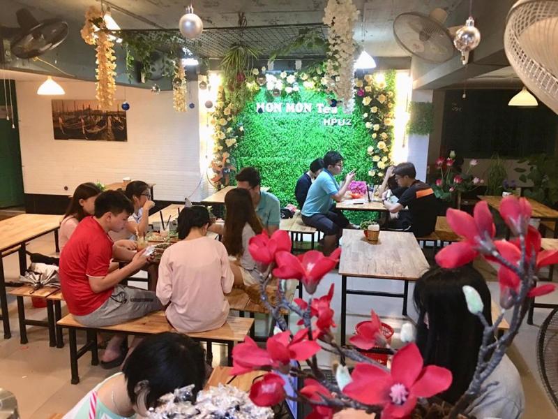 Quán MonMon GongCha Tea HPU2