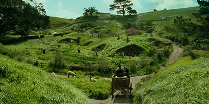 Làng Hobbit - Lord of the Rings