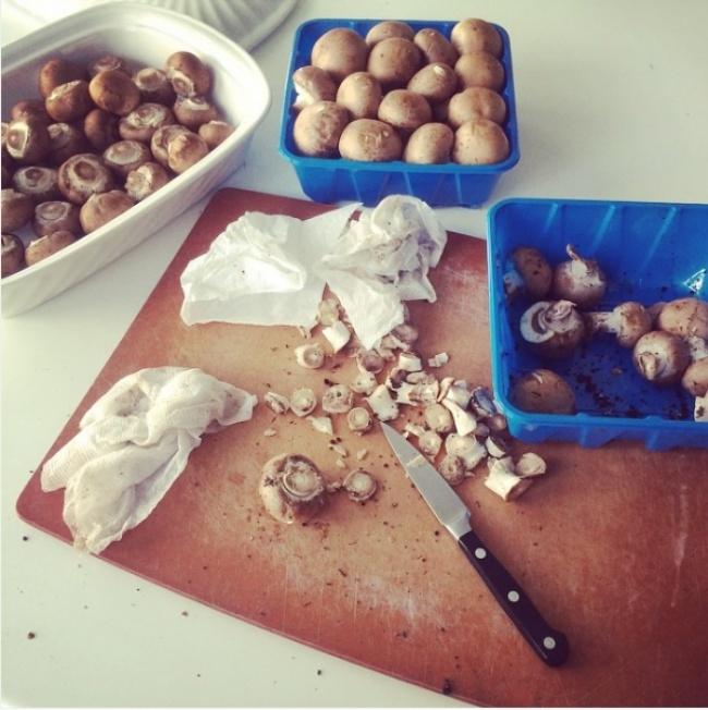 Làm sạch nấm
