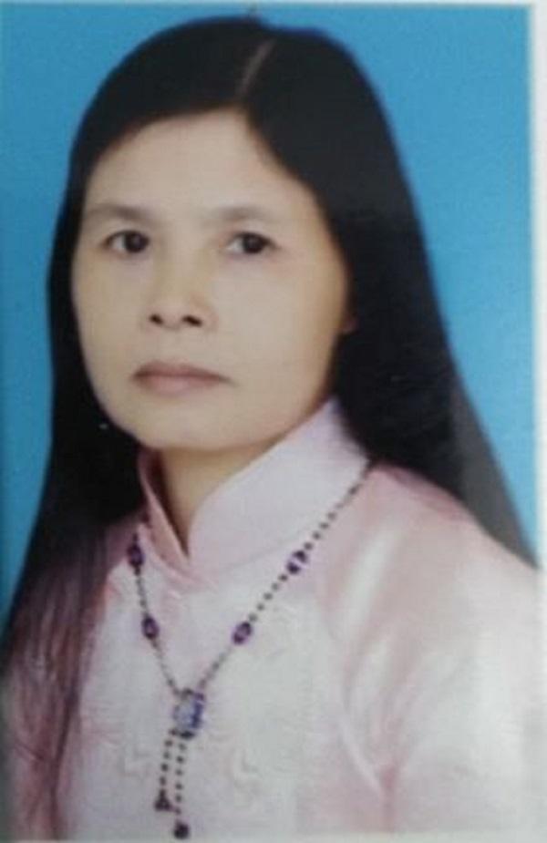 Ảnh chân dung nhà thơ Nguyễn Thị Hồng Hạnh