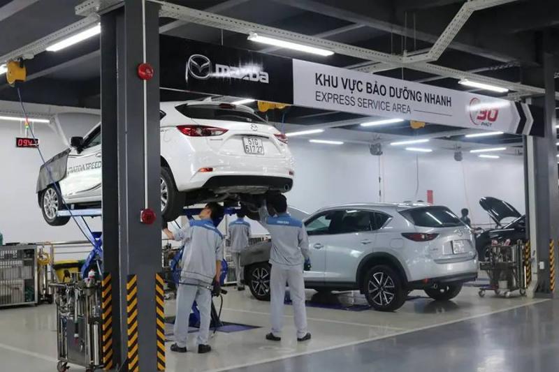Top 6 Xưởng/ Gara sửa chữa ô tô Mazda uy tín và chất lượng nhất ở Hà Nội