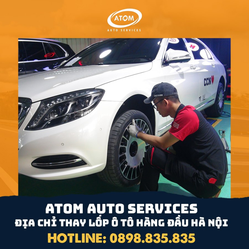 Atom Auto Services (B-Select Long Biên)