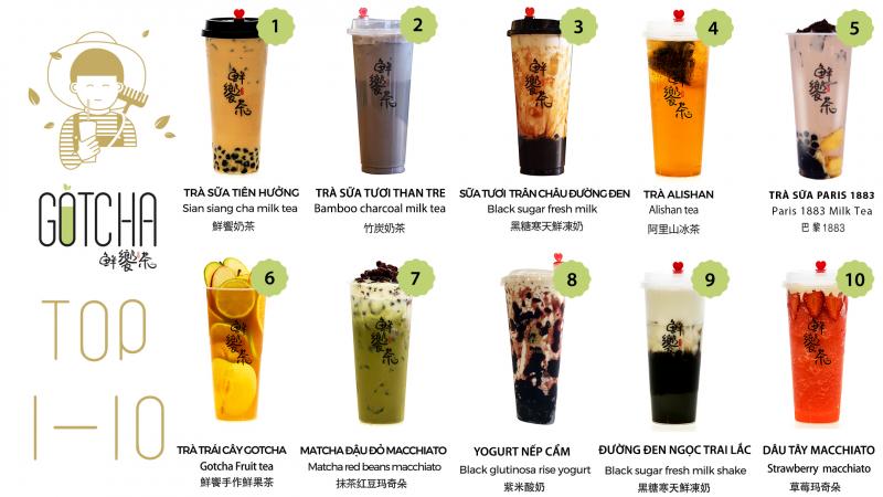 Top 12 thương hiệu trà sữa Đài Loan được giới trẻ yêu thích