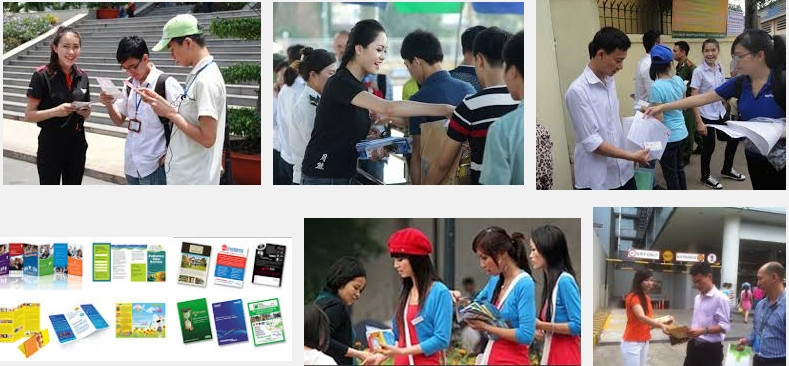 Top 4 công ty dịch vụ phát tờ rơi quảng cáo giá tốt nhất tại Hà Nội