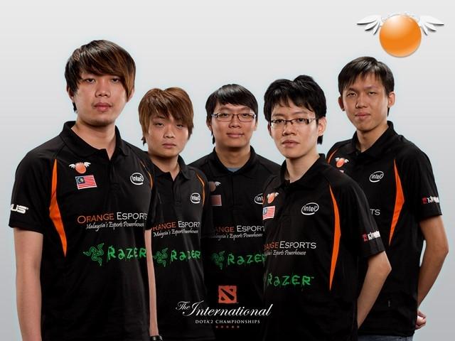 Team OrangeESport DreamTeam (nguồn internet)
