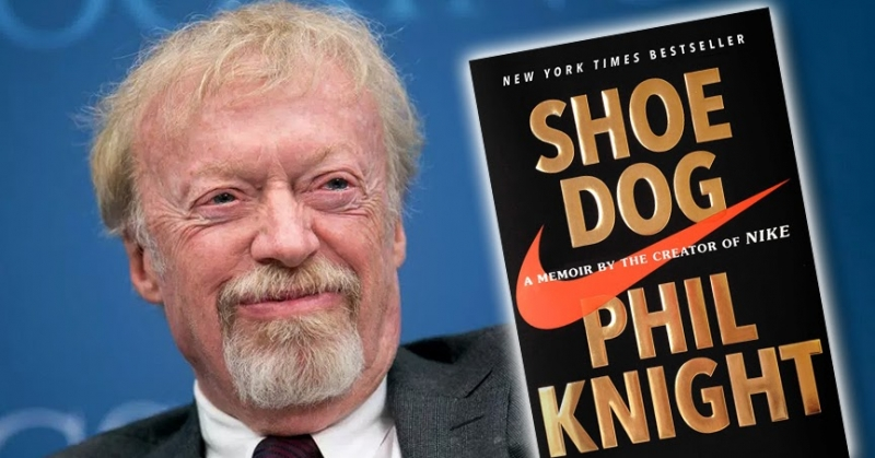 "Cuốn sách ""Shoe Dog"" - Phil Knight"