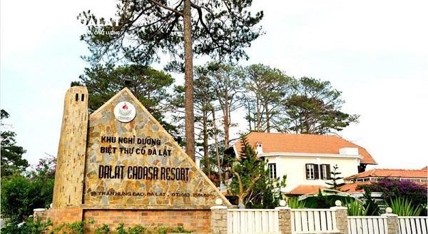 Khu biệt thự Đà Lạt Cadasa Resort