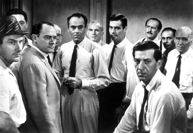 Các bồi thẩm đoàn trong phim 12 Angry Men (1957)