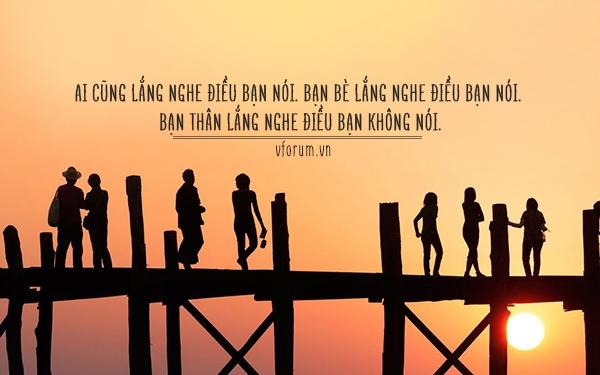 Ngoài tình mẫu tử, tình thầy trò, thì tình bạn là một nhu cầu rất lớn của con người sống trong xã hội.