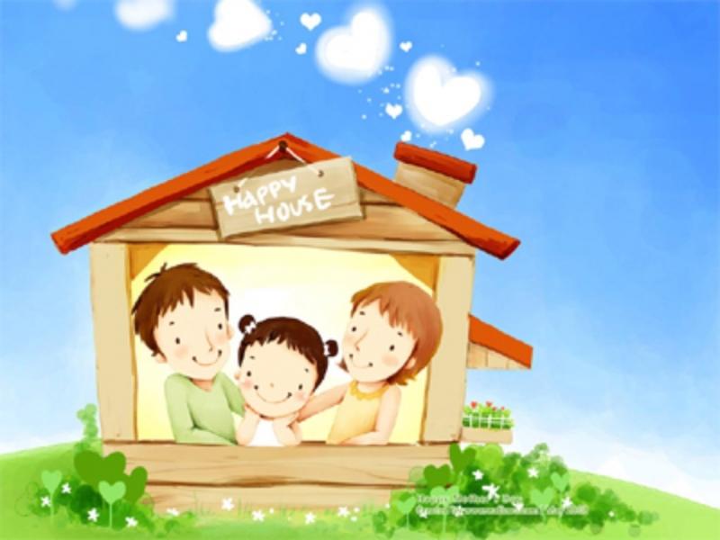 Tình cảm gia đình như những tia sáng diệu kì dẫn dắt chúng ta.