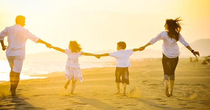 Tình cảm gia đình chính là tình cảm yêu thương chân thành