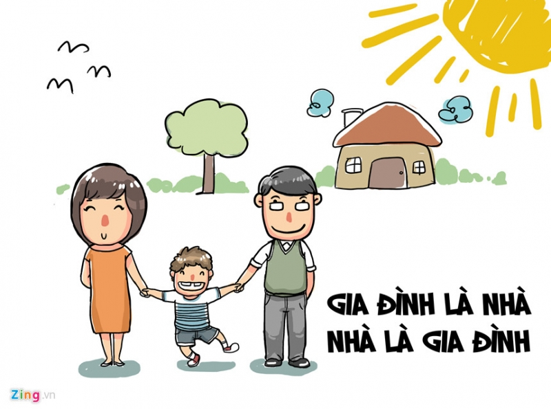 Gia đình là nhà - Nhà là gia đình