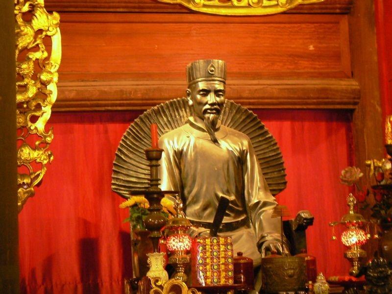 Chu Văn An (1292 – 1370) - người thầy mẫu mực (ảnh: sưu tầm)