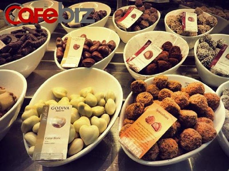 Những viên socola tươi ngon hảo hạng của thương hiệu socola nổi tiếng nhất thế giới.