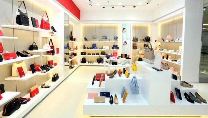 Không gian mua sắm hiện đại và bắt mắt tại cửa hàng Vascara