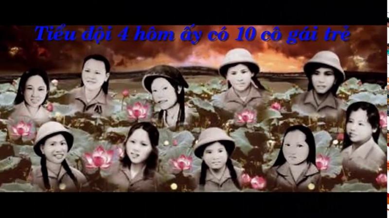 10 cô gái thanh niên xung phong - Ngã ba Đồng Lộc