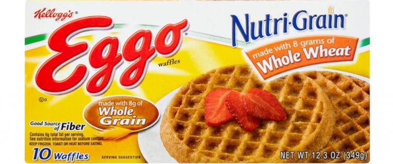 Waffle Eggo của Kellogg's (Nguồn: frugalcouponliving)