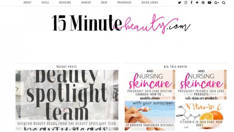 15 Minute Beauty Fanatic