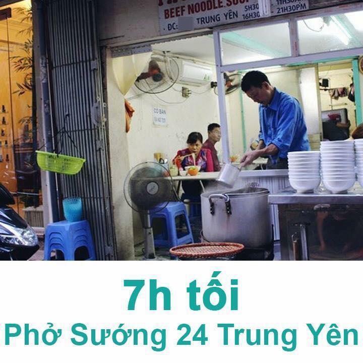 Phở Sướng-24 Trung Yên