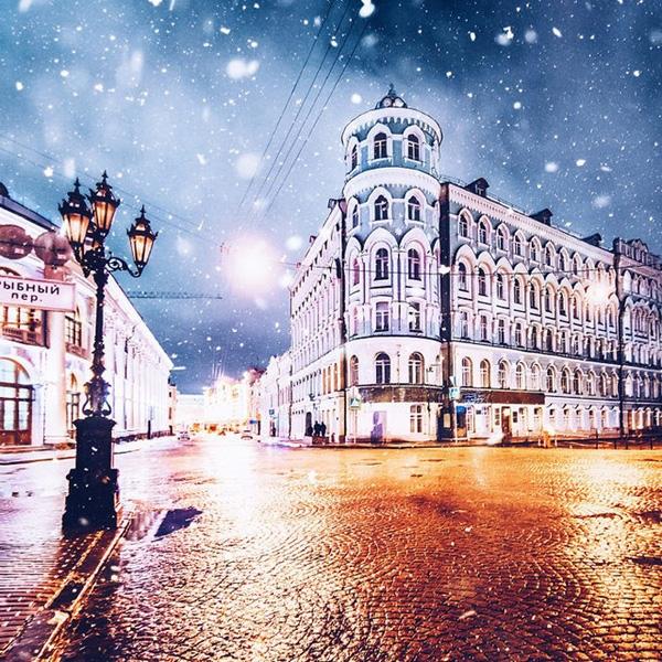 Những bức tranh mùa đông hoàn hảo tại Moscow