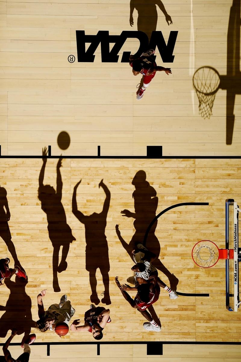 Bức ảnh 2015 NCAA Tournament của nhiếp ảnh gia Greg Nelson - Nguồn Internet