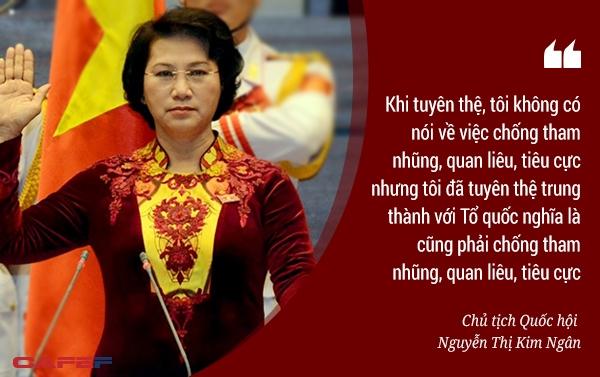 Bà Nguyễn Thị Kim Ngân là người phụ nữ đứng đầu cơ quan quyền lực nhất Việt Nam hiện nay!