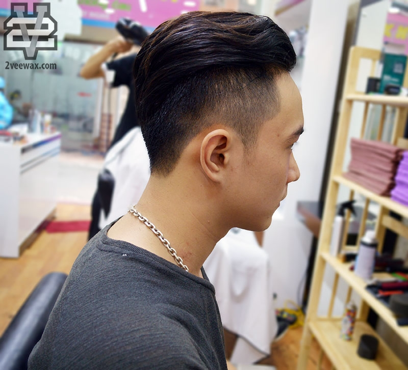 cắt tóc xả xui