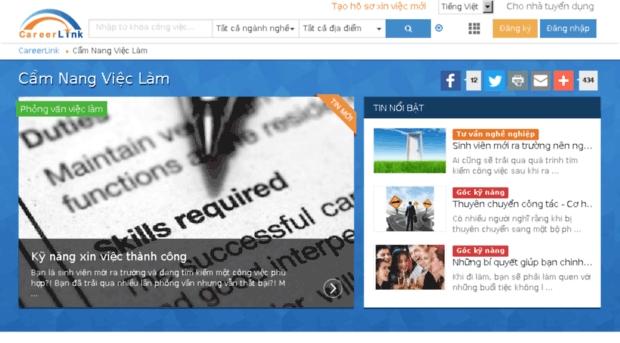 ( Careerlink.vn là nơi tìm kiếm việc làm thú vị dành cho bạn)