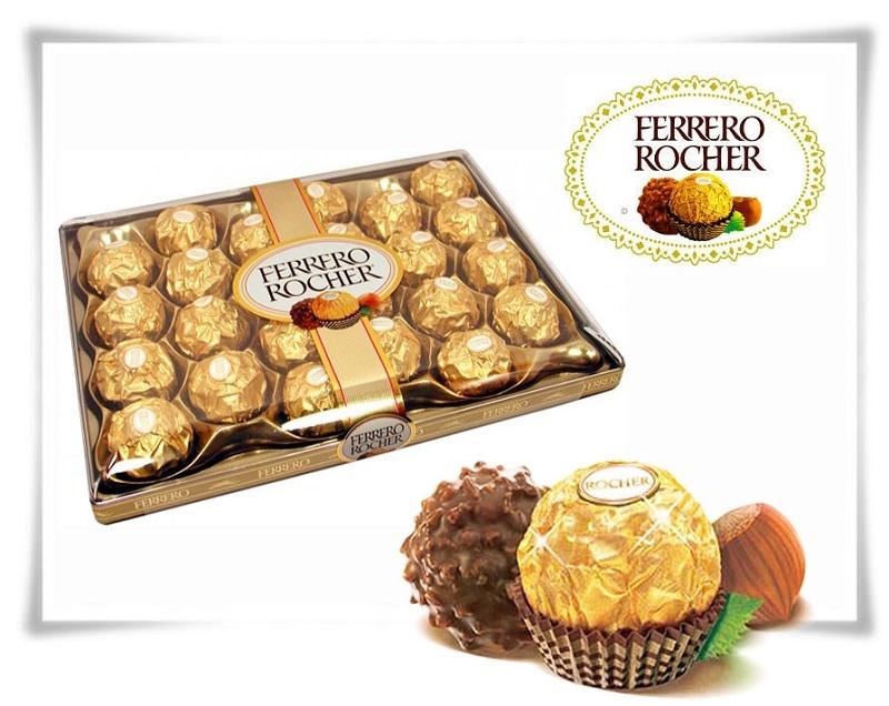 Socola nhân hạnh nhân của Ferrero Rocher