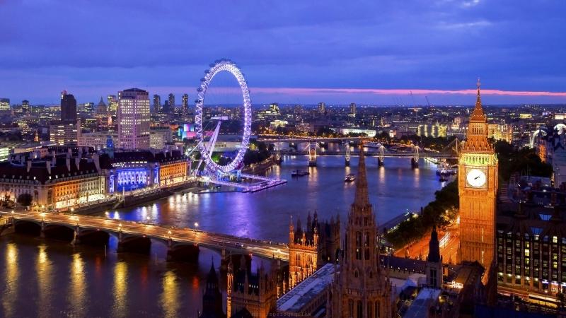 Vẻ đẹp của London vào mỗi mùa đông