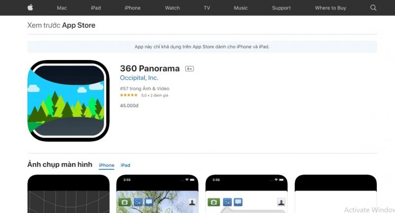 360 Panorama (IOS)