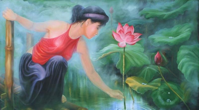 Tình yêu Nguyễn Du - Hồ Xuân Hương