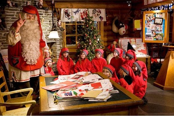 Phần Lan là quên hương của ông già Noel