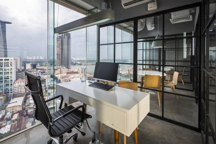 Văn phòng của Fram cho B+Architects thiết kế