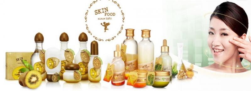 Bộ sản phẩm chăm sóc da Skinfood