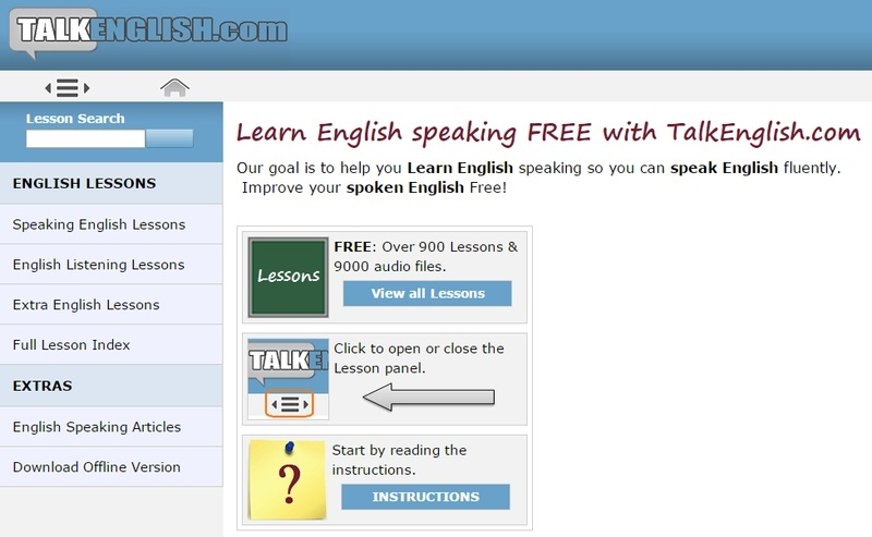 4. Talk English (talkenglish.com)